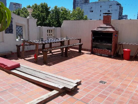 ChillHouse: the BBQ area