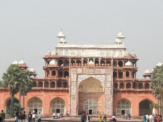 Uttar Pradesh, Indien: The Tomb Facade