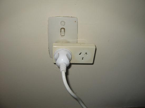 Mangonui Motel: Plug socket