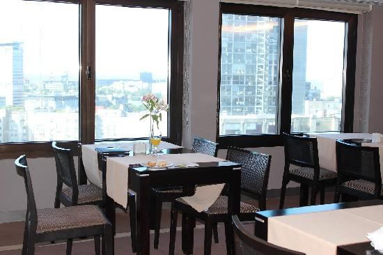 Sheraton Libertador Hotel: 上の階にあるメンバーラウンジ、見晴らしも良い