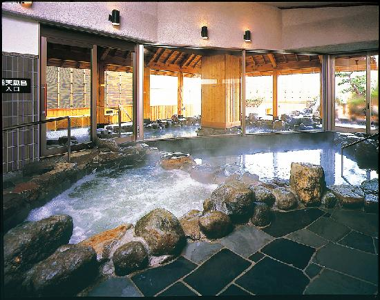 Hotel Harvest Tateshina: indoor bath