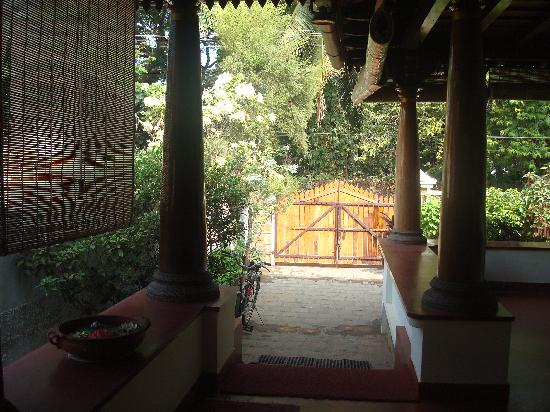 Cochin Heritage Home: the entrance