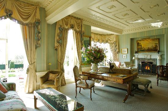 Hambleton Hall Drawing Room