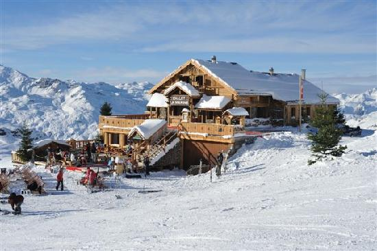 Chalet de la Marine : In the very Heart of the ski area