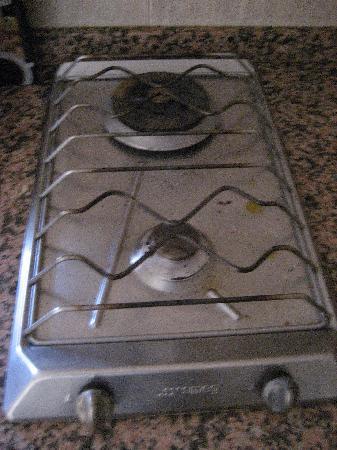 Residence Aida Apartamentos: Cuisinière à gaz avec un seul feu qui marche !