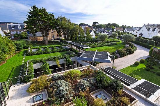L'Agapa Hotel SPA Nuxe : Vue Jardin