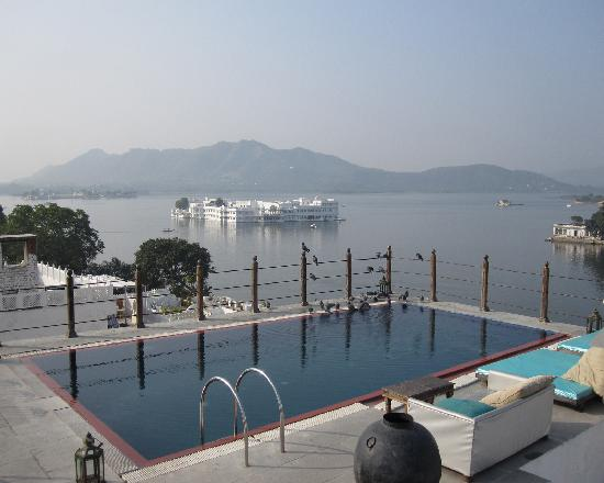 View From Dining Area Picture Of Hotel Udaigarh Udaipur Udaipur Tripadvisor