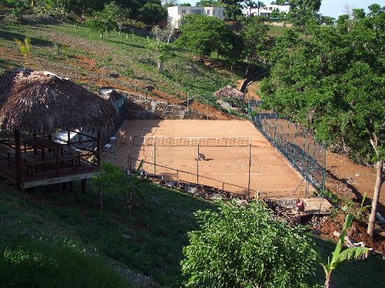 Domaine d'Eden de Nosy Be : Tennis