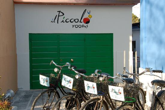 Il Piccolo Rooms: bici per i nostri clienti