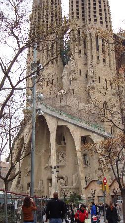 Barcellona, Spagna: sagrada famiglia