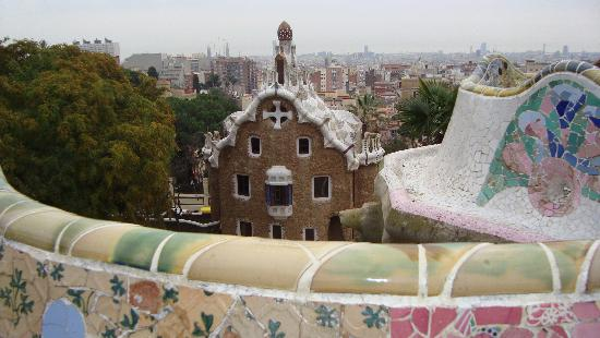 Barcelona, Spain: parco guell