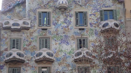 Barcelona, Spanje: casa batlò