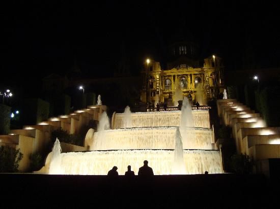 Barcelona, Spanje: scalinate del MNAC