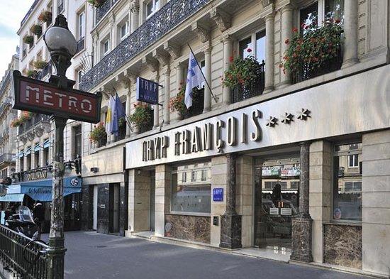 TRYP Paris Opera Hotel: Entree de l'hotel
