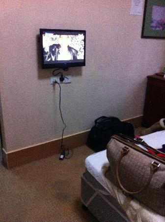 Ko Wah Hotel: flat screen tv with many cable channels