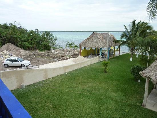 Hotelito El Paraiso: construction