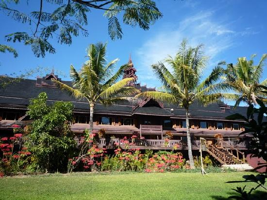 Inle Resort & Spa : hotel grounds