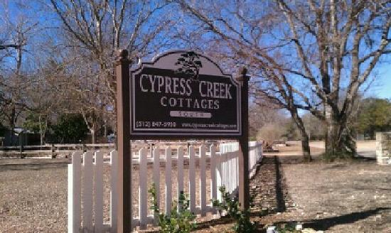 Cypress Creek Cottages: WELCOME