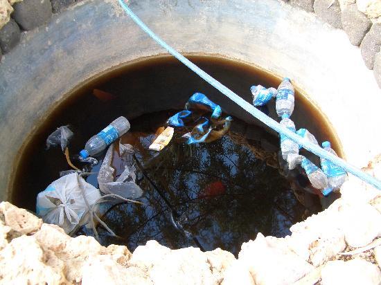 Azraq Palace Restaurant: ein Blick ins Brunneninnere!