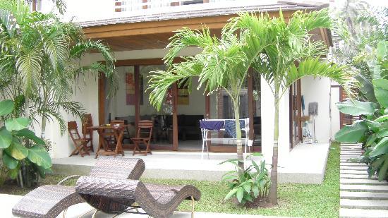 Boh Khung Villas : REAR VIEW