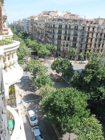 Hotel Murmuri Barcelona: view from our balcony