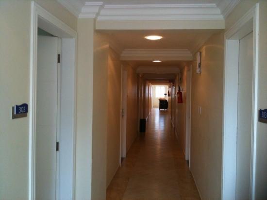 Sanfelice Hotel: pasillo del 3 piso