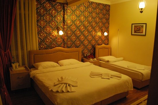 Med Cezir Hotel: double room ensuit