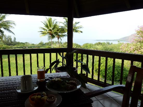 Kealakekua Bay Bed & Breakfast: View from the breakfast table