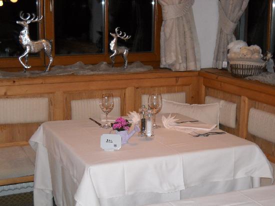 Hotel Bel Sit: il nostro tavolo