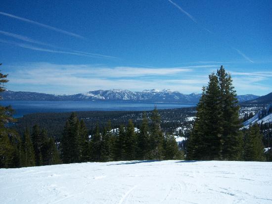 Granlibakken Tahoe : View from Homewood - Lake Tahoe
