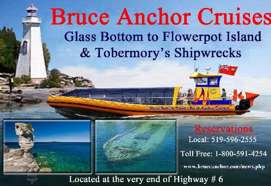Bruce Anchor Motel and Cottage Rentals: We are now offering tours!