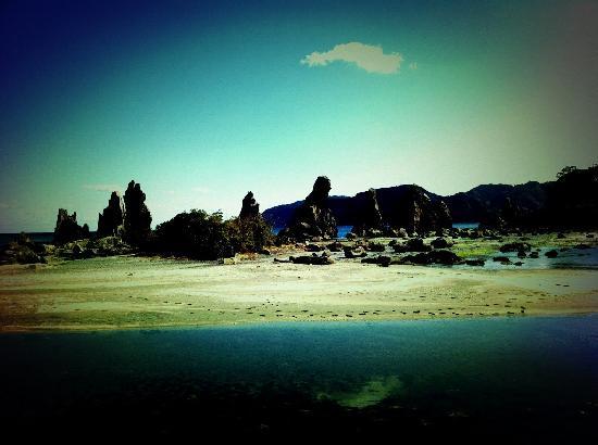 Hashigui-iwa: 橋杭岩3