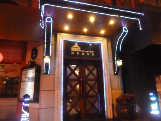 Bremen Inn Harbin Zhongyang Main Street: Aussen nachts