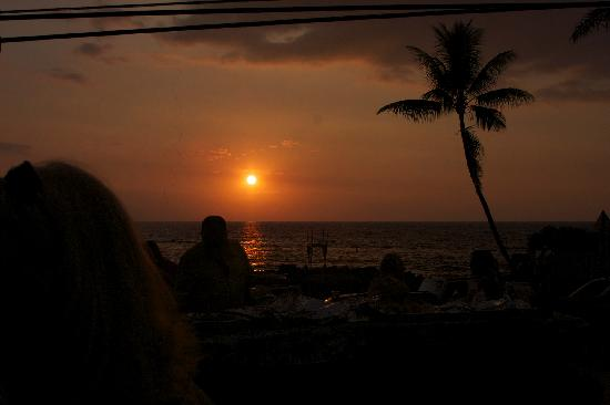 Kona Seaspray: Sunset from the SEASPRAY