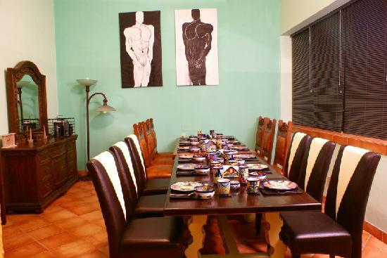 Casa Alebrijes Hotel: Dining Room