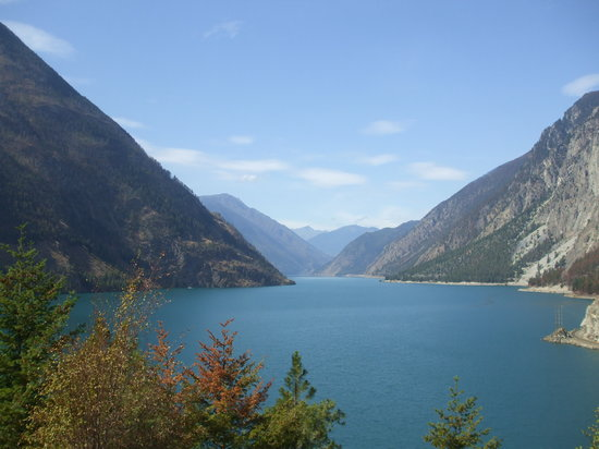 ‪‪Lillooet‬, كندا: Seton Lake near Lillooet‬