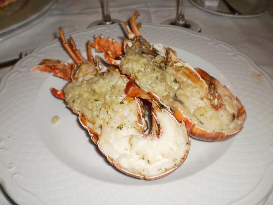 Melia Las Americas: Yummy Lobster at La Arcada