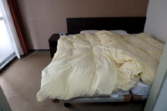 Hotel Mystays Ueno Iriyaguchi: Bed in triple room