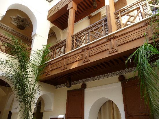 Riad Hizad: Atrium