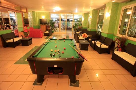Hotel Aiglon: sala relax