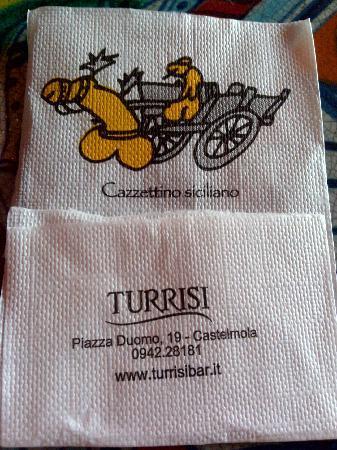 caffe bar Turrisi: Bar Turrisi a Castelmola