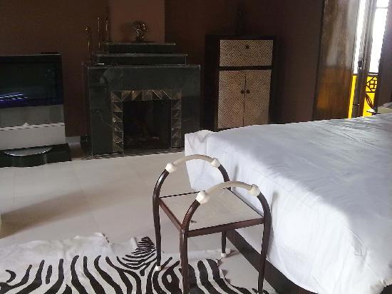 Villa Makassar: 'African' room