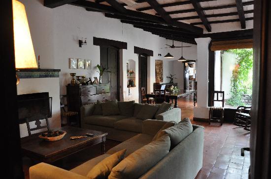Eines Der Wohnzimmer Picture Of Estancia El Bordo De Las Lanzas