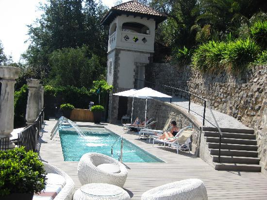 The Aubrey Boutique Hotel: The pool area