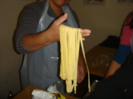 Michelangelo Cooking Class: La pasta