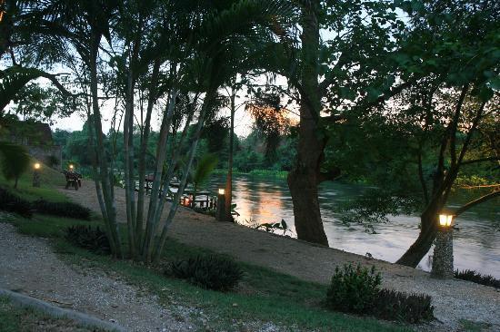 Oriental Kwai Resort: River view