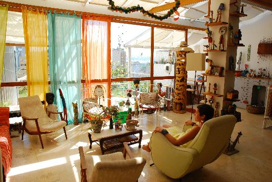 Casa da Gente: la pièce commune