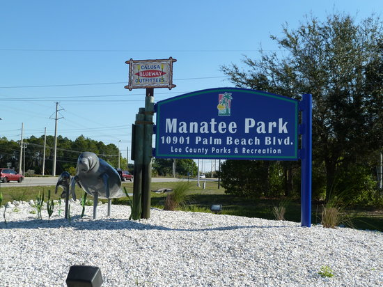Fort Myers, Flórida: Entrance to the park