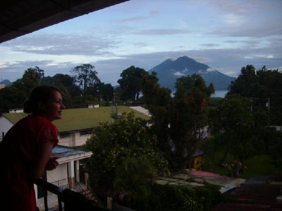 View from our balcony at Posada de los Volcanes
