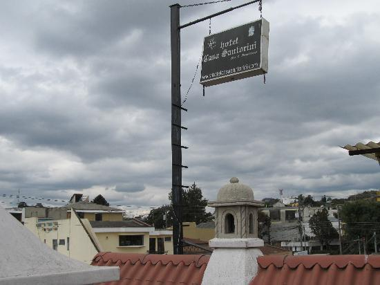 Hotel Casa Santorini: rooftop/terrace view